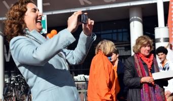 Zonnige start Koningsdag Amstelveen