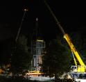 Lift geplaatst op station Meent tijdens nachtelijke operatie