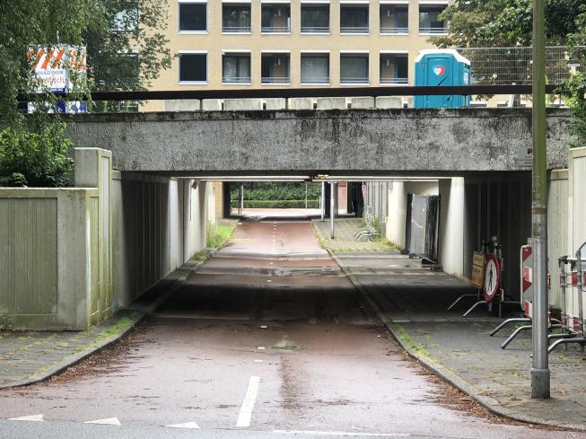 Fietstunnel Meent weer open
