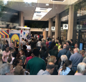 Grote drukte bij opening nieuwe Lidl Amstelveen