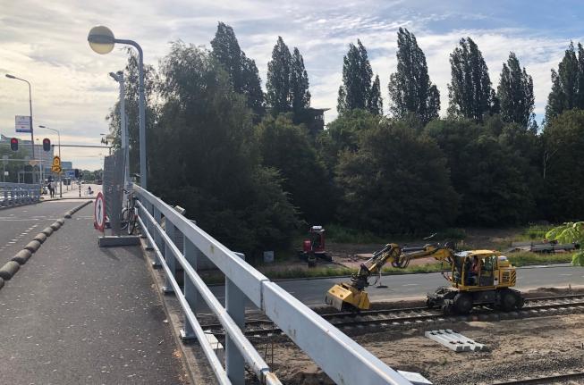 Afsluitingen rond viaduct Ouderkerkerlaan Amstelveen
