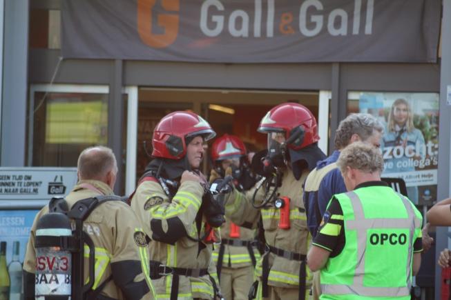 6 klanten Albert Heijn Maalderij onwel; 1 naar ziekenhuis