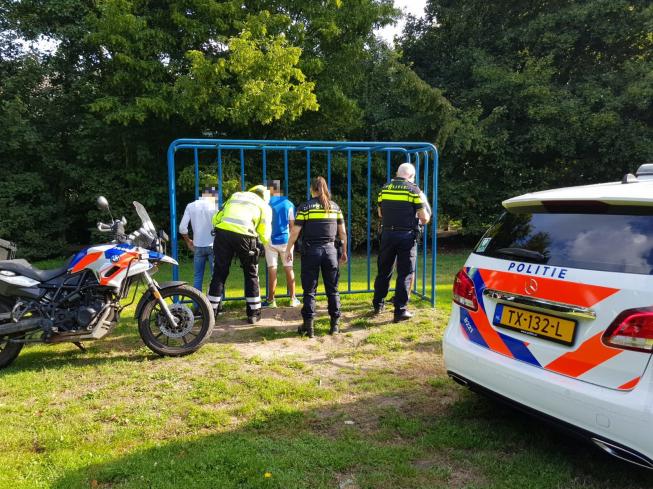 Drie verdachten aangehouden in speeltuin Waardhuizen