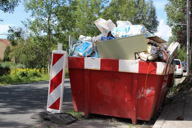 Amstelveen gaat overlast rond bouwcontainers aanpakken