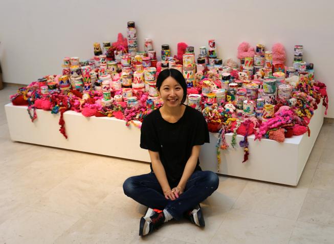 Ayako Rokkaku: 'Spelen met kleuren, kleine ontdekkingen'