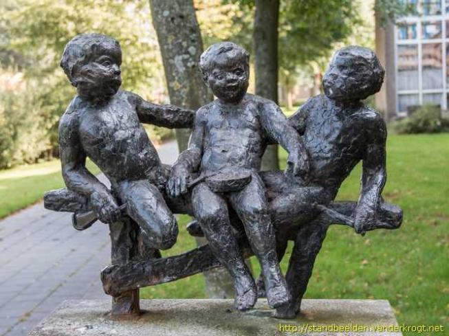 'Drie Kleine Kleutertjes' komen terug in Amstelveense straatbeeld