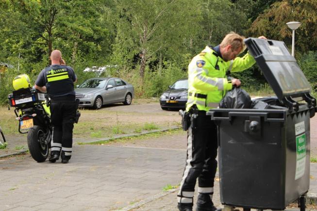 Vluchtende drugsverdachte schuilt tevergeefs in bosjes