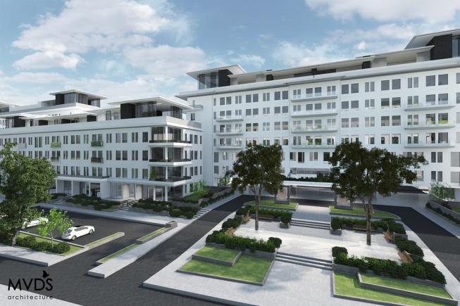 'Woningen in oud-KPMG-gebouw (The Mayor) vanaf 5 ton tot over 2 miljoen euro'