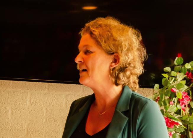 Sportend Amstelveen heeft veel te danken aan Agnes Brunninkhuis