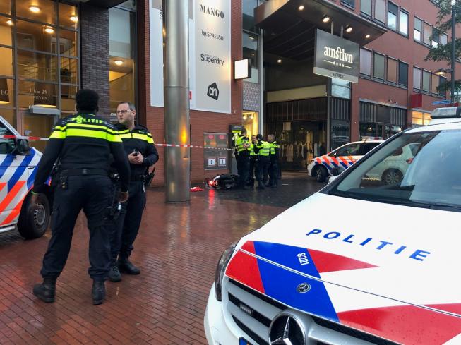 Politievoertuig betrokken bij aanrijding na achtervolging in Stadshart