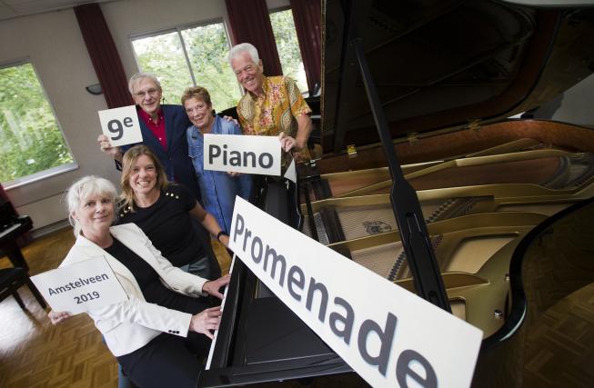 Het is weer tijd voor de Piano Promenade Amstelveen