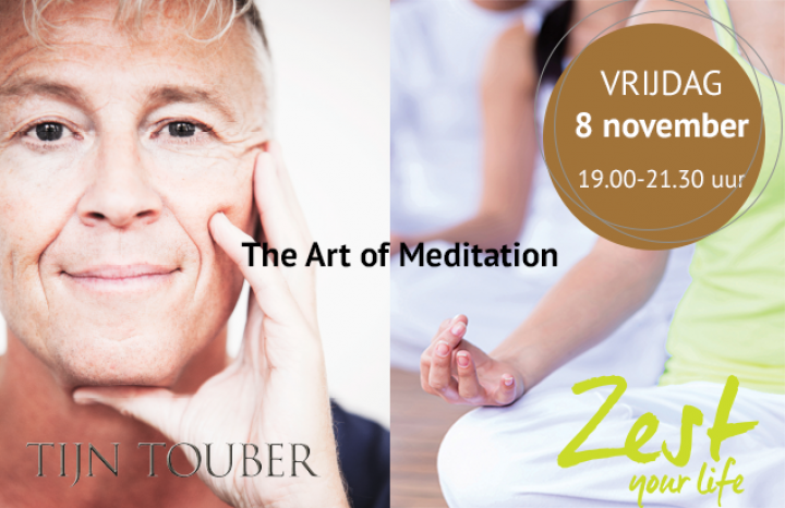 Tijn Touber bij Zest Your Life - Meditatie stap voor stap