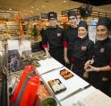 Sushi-bar Albert Heijn Maalderij is grote hit