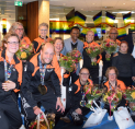 Amstelveen huldigt Nederlands Special Needs Taekwondo Team