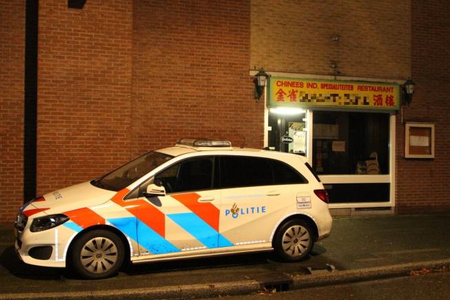Overval op Chinees restaurant Waardhuizen Amstelveen
