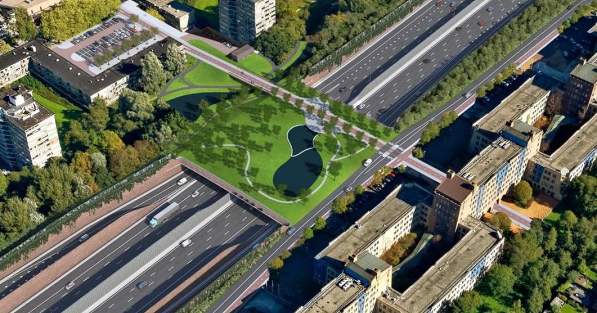 Zo gaat de Meander-overkapping over de nieuwe A9 bij Amstelveen eruit zien - Amstelveenz.nl