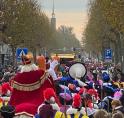 Drukte bij Sinterklaas Intocht Amstelveen