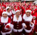 Santa Run Amstelveen: honderden kerstmannen rennend door het centrum