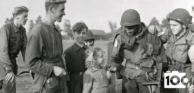 'De Tweede Wereldoorlog in 100 foto's'