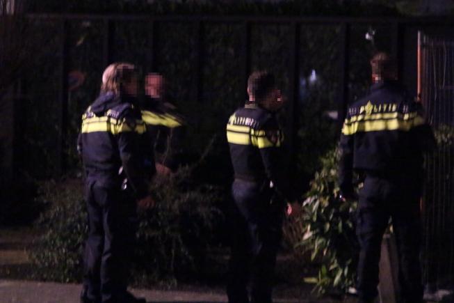 Politiemacht maakt jacht op inbrekers