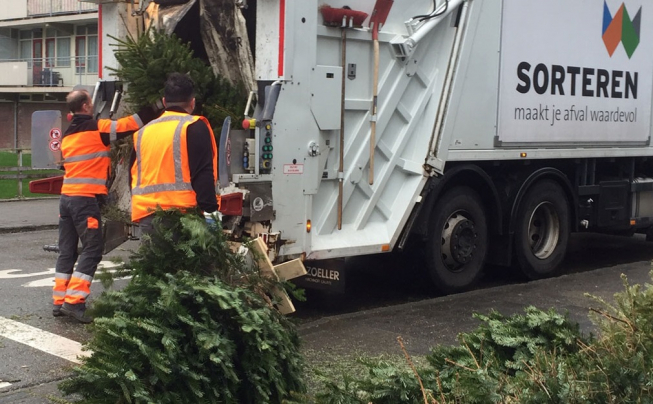 Amstelveen nog niet klaar met kerstbomen