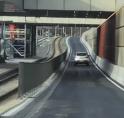 Even wennen: auto's 'de trambak in' bij Kronenburg