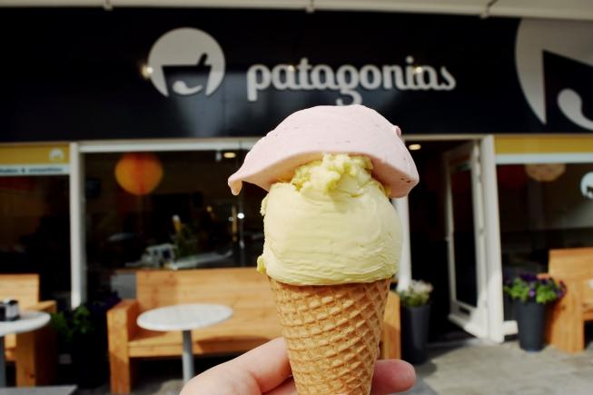 Met wie wil jij een ijsje eten bij Patagonias?
