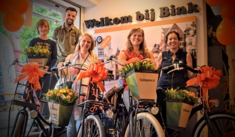 BINK Fietsen maakt 4 Cortina-fans dolblij met test e-bikes