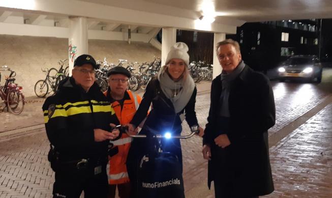 Nu wel boetes bij controle fietsverlichting in Amstelveen