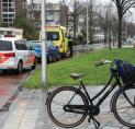 Aanrijding tussen jonge fietser en auto