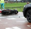Ongeval tussen auto en scooter op kruising Bovenkerkerweg/Nesserlaan