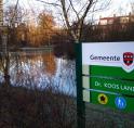 Zeldzaam Koos Landwehrpark onder water: bodem verzadigd