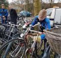 Amstelveen gaat in toekomst naast fietswrakken ook weesfietsen wegknippen