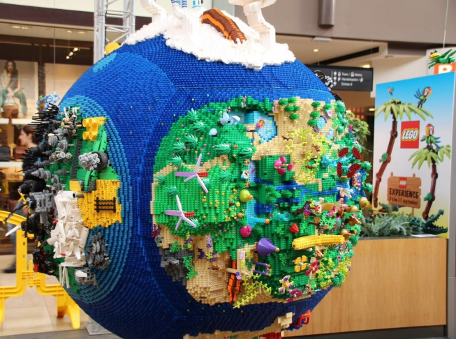 Van Lego kun je alles maken
