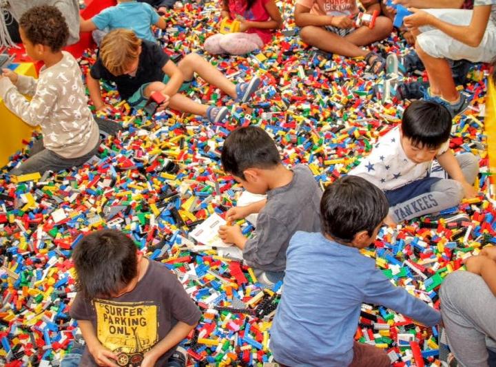 Maakplaats On tour LEGO Mindstorms: recyclen