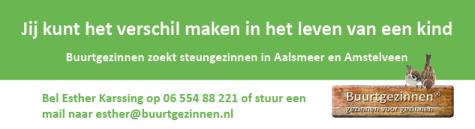Buurtgezinnen Aalsmeer & Amstelveen