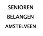 Senioren Belangen Amstelveen (SBA) logo