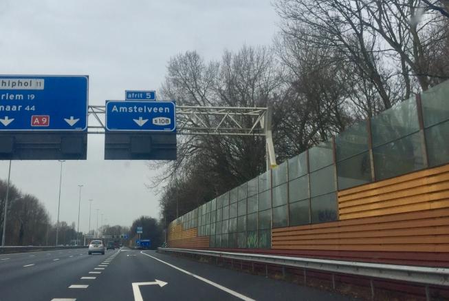 Jarenlange afsluitingen van A9-afslagen bij Stadshart Amstelveen van de baan