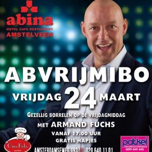 Abvrijmibo met Armand Fuchs