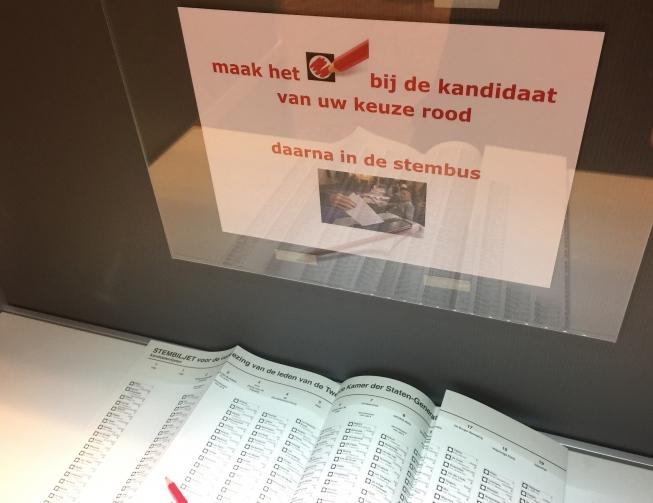 Amstelveen geeft stemmentellers 50 euro