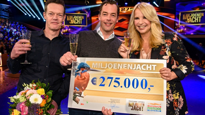 Miljoenenjacht: Amstelvener wint 275.000 euro