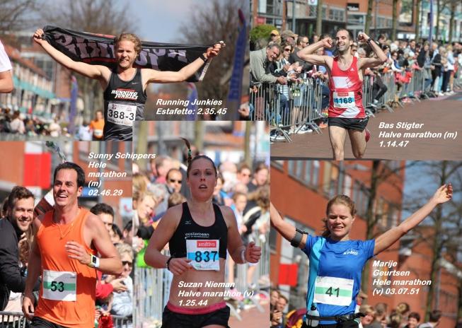 AmstelveenZ Lentemarathon: de winnaars