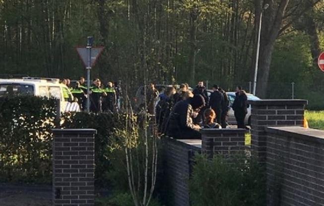 Politie grijpt in bij examenstunt KKC
