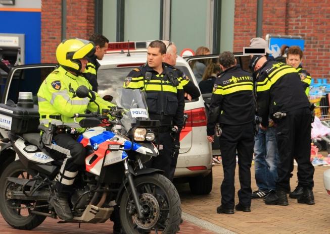 Agressieve man opgepakt bij vrijmarkt Westwijk