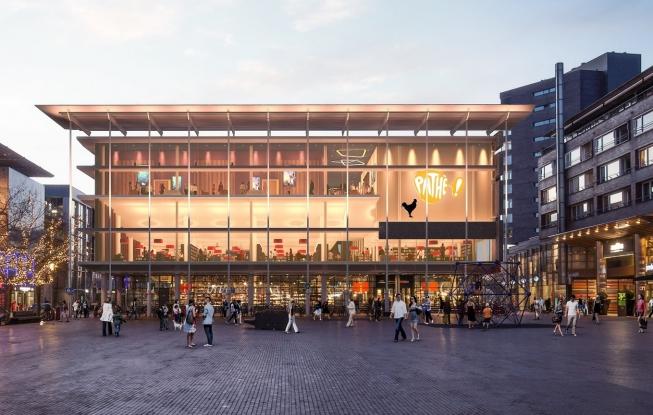 Vernieuwing Stadshart: plannen voor Pathé-bioscoop