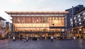 Pathé bioscoop komt naar Amstelveen, maar niet in bieb-gebouw