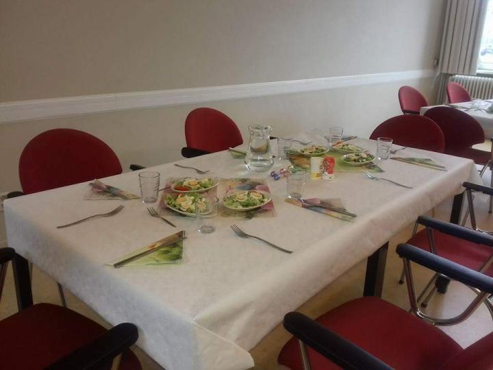Gezellige middag in het MOC gebouw Amstelveen