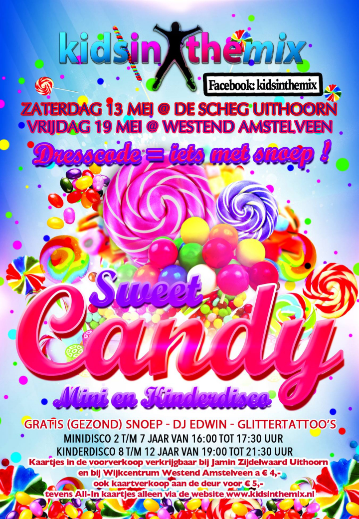 Sweet Candy Disco in Westend