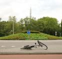 Amstelveen treft maatregelen voor fietsveiligheid rotondes