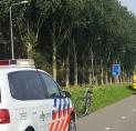 Aanrijding scooter en fietser Oranjebaan